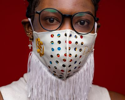 Ghanaian Designer Rafarazzi Gets Extra Creative With His Nose Masks