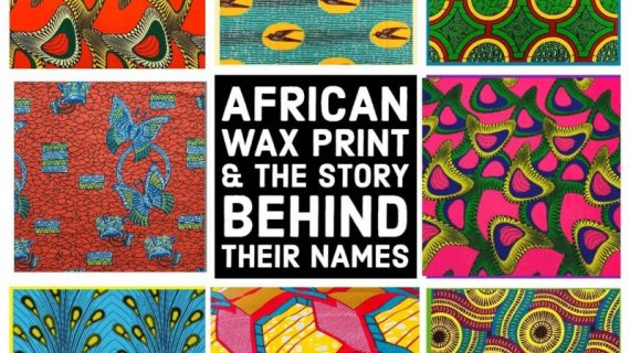 African Wax Prints and the Story behind their names