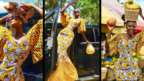 Hamamat Is Nothing But 'African Print' Sunshine As She Serves Us Haute Sauce