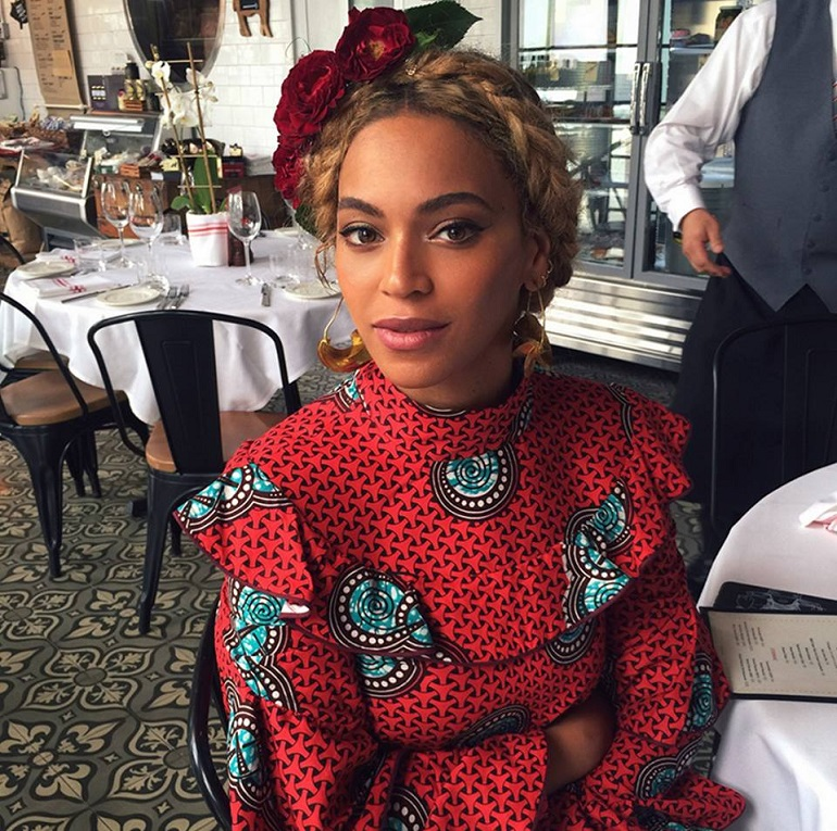 Let's Show You How Beyonce And These International Celebrities Rock African Prints!